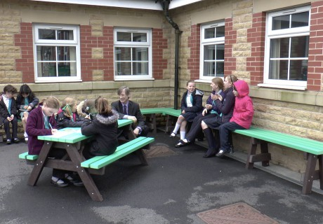 School Outdoor Furniture