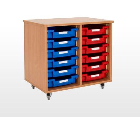 12 Tray Storage Unit