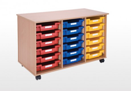 18 Tray Storage Unit