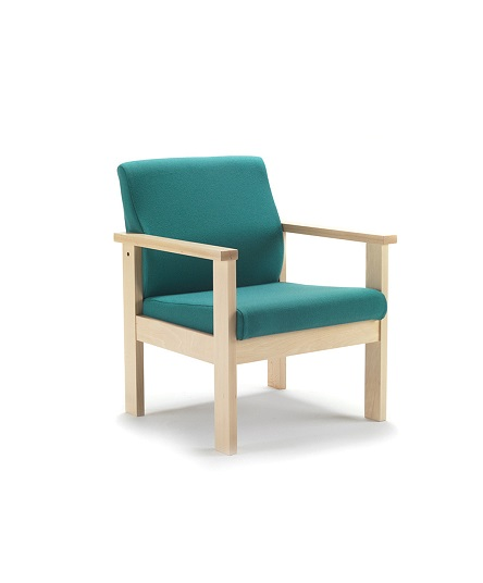 Low Arm Chair Wood AZ-S714