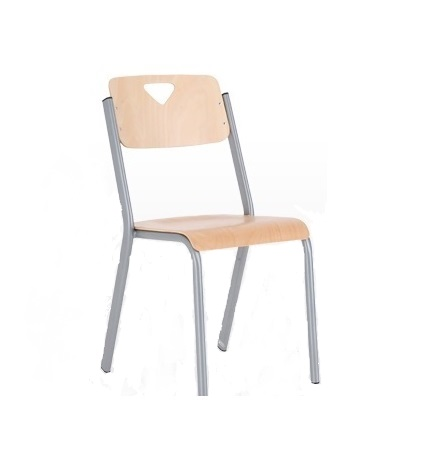 Wooden Classroom Chair