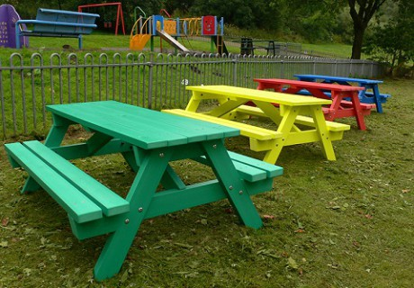 Derwent Junior Picnic Tables