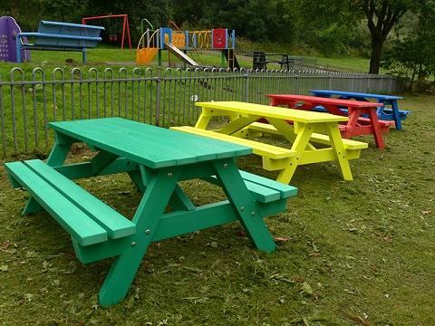 Derwent Junior Picnic Tables