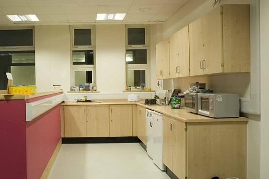 Staff Room Install 1