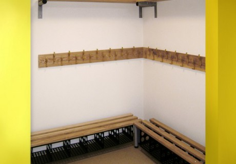 Bench Install Washroom