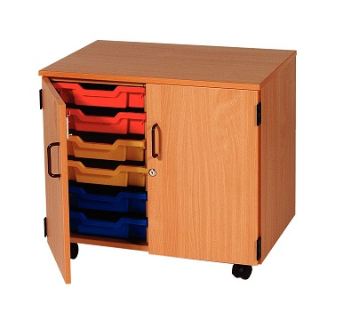 Lockable Tray Storage
