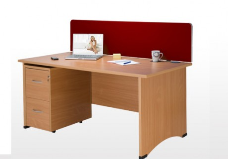 Office Desk Panel End