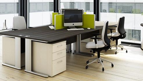 Wenge Maple Desking