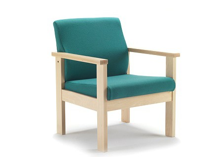Low Arm Chair Wood AZ-S714