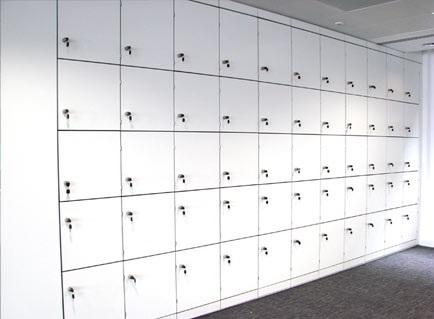 Floor to Ceiling Lockers