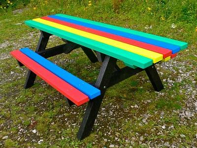 Multi Coloured Table