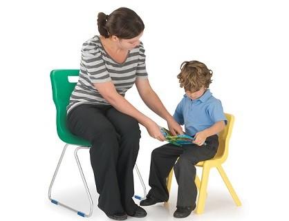 Skid Classroom Chair